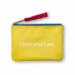 KIDS POSITIVITY POUCH (YELLOW)